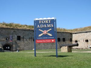 Fort Adams Front Gate
