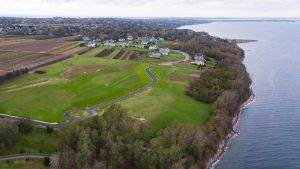 Aerial photo Sakonnet Bluffs Portsmouth RI