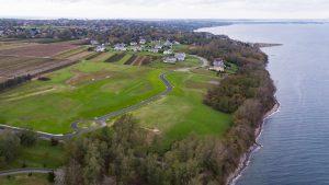 Aerial photo Sakonnet Bluffs Portsmouth RI
