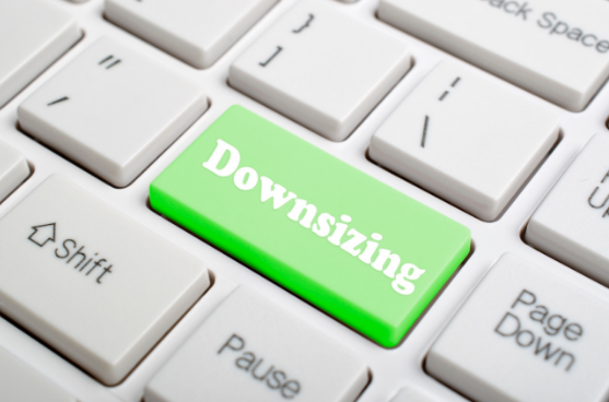 downsizing button