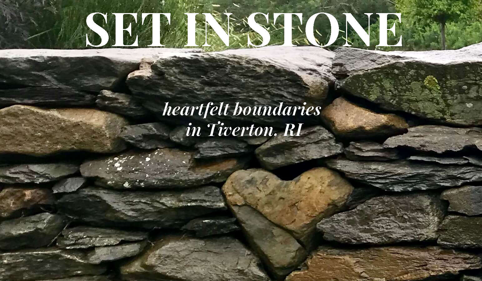 Heart Stone in Stone Wall