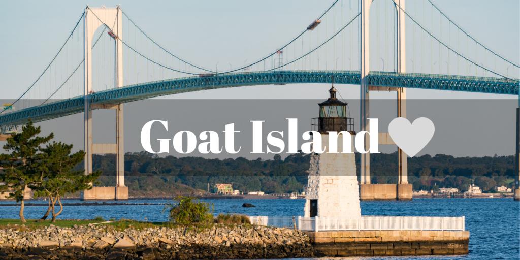 Goat Island Newport Bridge