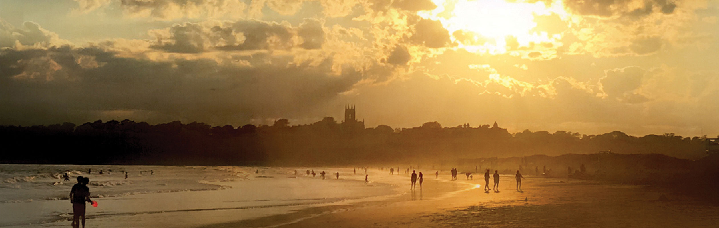 Summer Scene at Second Beach Newport