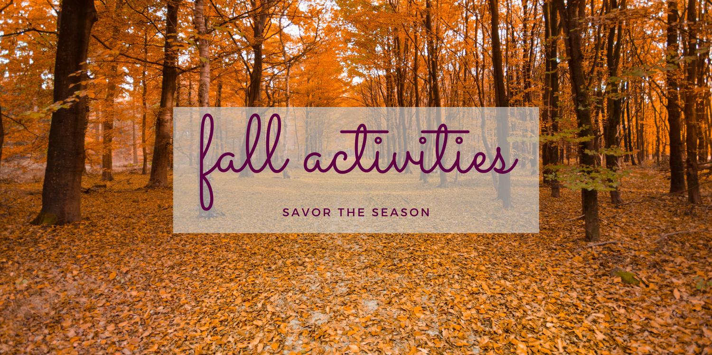 Fall Activities - Newport RI