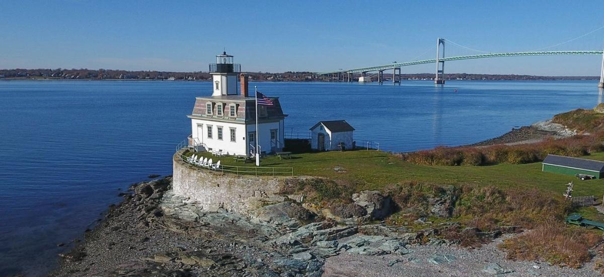 Rose Island Lighthouse Newport Rhode Island